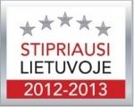 UAB Židinių meistrai - vieni stpriausių Lietuvoje 2012 - 2013 m