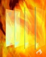 Židinio stiklas - stiklas židiniams
