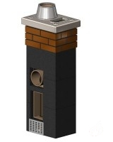 Rondo Plus 20+V (360x500mm) vieno kanalo su ventiliacija