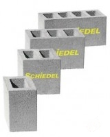 Schiedel vertikalus ventiliacinis blokas