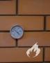 Duonkepio termometras 500 °C