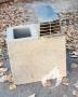 Stogelis ventiliacijos kanalui